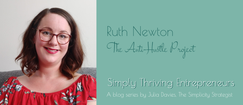 Simply Thriving Entrepreneurs - Ruth Newton