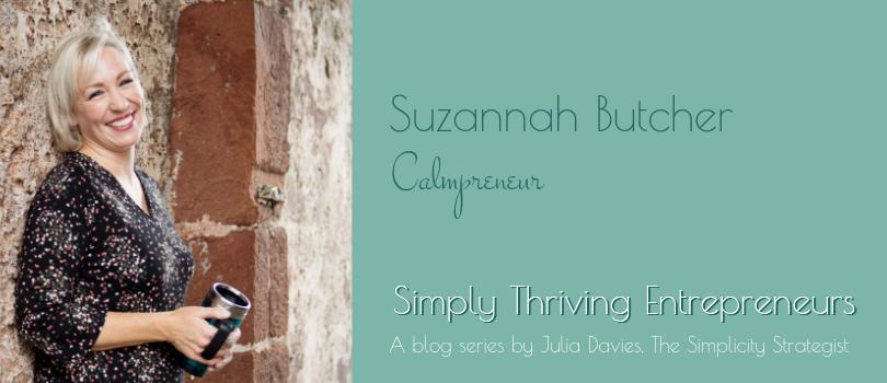 Simply Thriving Entrepreneurs - Suzannah Butcher