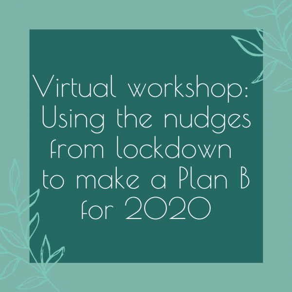 Virtual workshop with Julia Davies Coaching