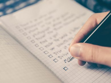 Eliminate the shoulds from your to do list